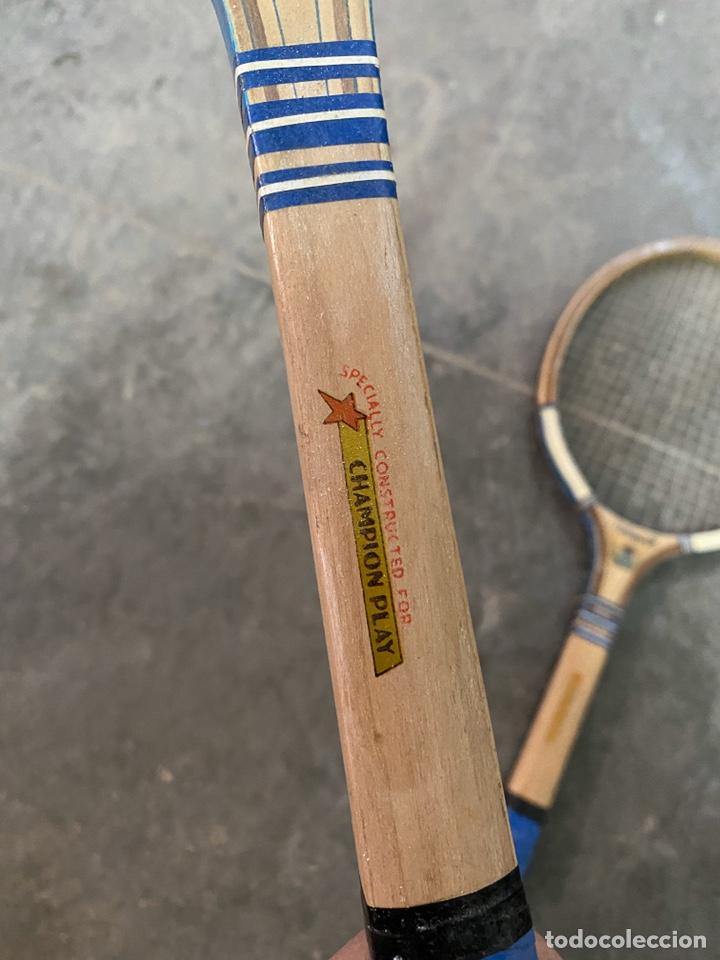 Coleccionismo deportivo: 2 raquetas Thunder - Foto 3 - 194314101