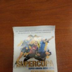 Coleccionismo deportivo: ENTRADA BALONMANO SUPERCOPA ESPAÑA FEMENINA 2019. Lote 194345457