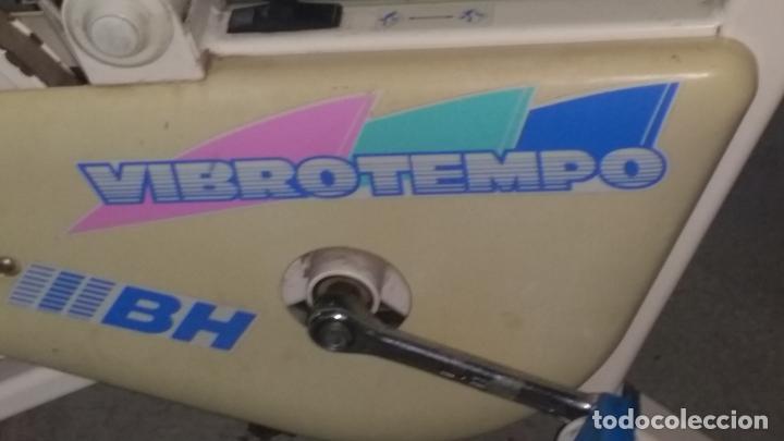 Coleccionismo deportivo: bicicleta estatica BH VIBROTEMPO buen estado - Foto 6 - 195334580