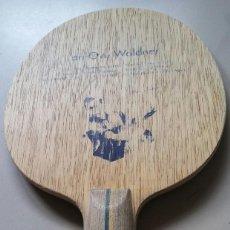 Coleccionismo deportivo: MADERA TENIS DE MESA JAN-OVE WALDNER JO SHAPE. Lote 196116658