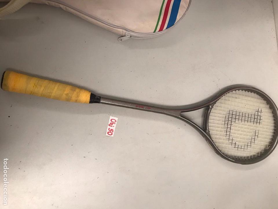 Coleccionismo deportivo: Raqueta antigua - Foto 2 - 197563897