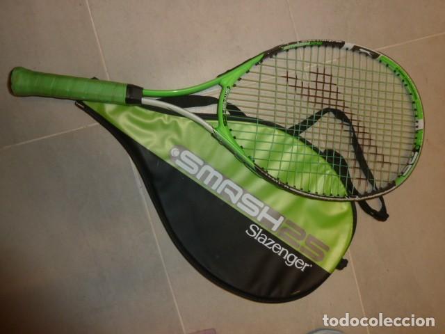 Raqueta tenis junior. Slazenger Smash25 segunda mano