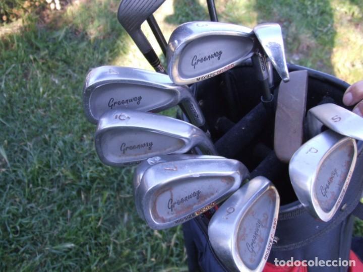 Coleccionismo deportivo: Saco de Golf con 13 palos y un par de pelotas - Foto 3 - 199316551