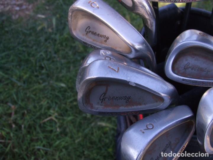 Coleccionismo deportivo: Saco de Golf con 13 palos y un par de pelotas - Foto 7 - 199316551
