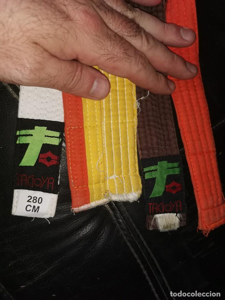Coleccionismo deportivo: 5 cinturones de yudo antiguos - Foto 2 - 201116687