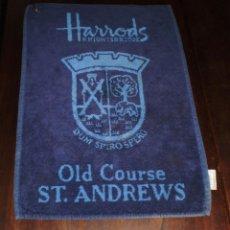 "Coleccionismo deportivo: GOLF ""HARRODS"" - OLD COURSE ST. ANDREWS - TOALLA 100% ALGODON. Lote 206497875"