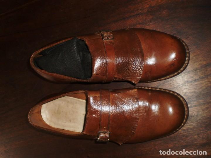 Coleccionismo deportivo: - GOLF - Zapatos piel sra. artesanales 1920s. - Foto 2 - 207477738