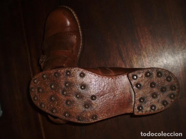Coleccionismo deportivo: - GOLF - Zapatos piel sra. artesanales 1920s. - Foto 4 - 207477738