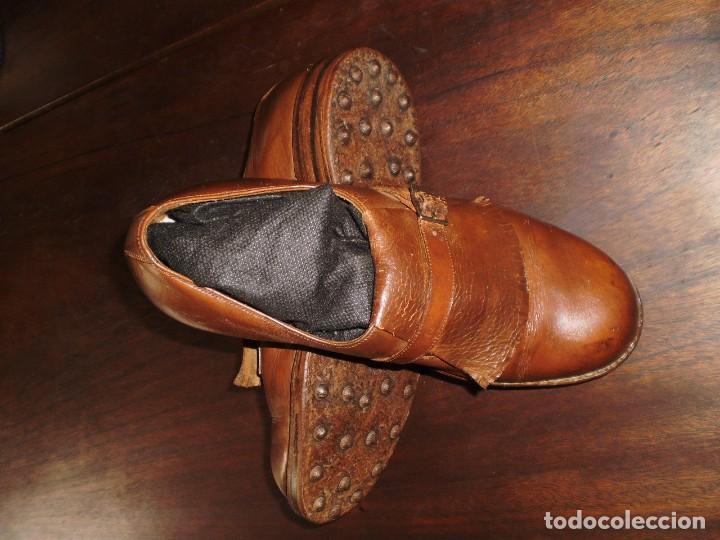 Coleccionismo deportivo: - GOLF - Zapatos piel sra. artesanales 1920s. - Foto 5 - 207477738
