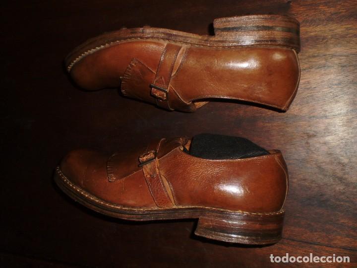 Coleccionismo deportivo: - GOLF - Zapatos piel sra. artesanales 1920s. - Foto 10 - 207477738