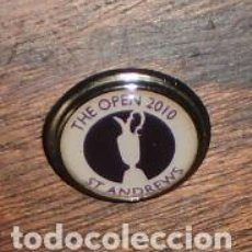 Coleccionismo deportivo: GOLF MARCADOR BOLAS - THE OPEN 2010 ST. ANDREWS -. Lote 208200342
