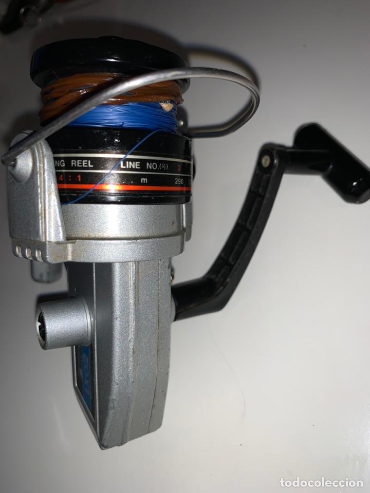 Coleccionismo deportivo: Antiguo carrete de pesca RYOBI LXO 2 spinning - Foto 4 - 208424082