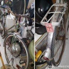 Coleccionismo deportivo: BICICLETA CLASICA ..RESALB..CAMBIO STURMEY ARCHER DE 3 VELOCIDADES MATRICULA ROJA. Lote 210594577