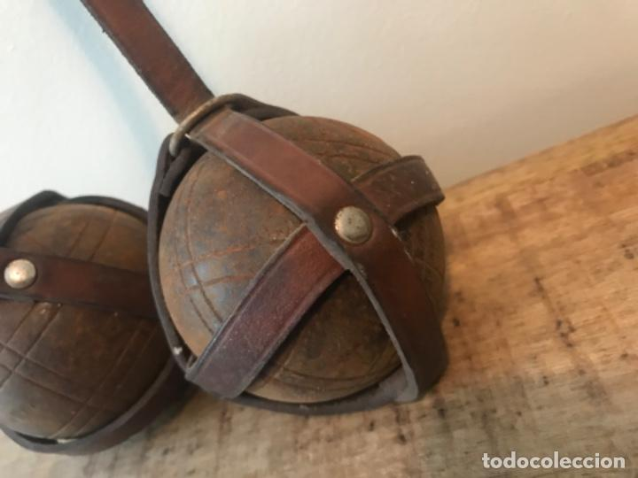 Coleccionismo deportivo: Antiguas bolas de petanca. Juego. Deporte. - Foto 2 - 210652106