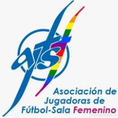 Colecionismo desportivo: LA AJFSF ASOCIACIÓN DE JUGADORAS DE FÚTBOL SALA FEMENINO NOS DONA UNA SUDADERA DEL DÉCIMO ANIVERSARI. Lote 210980411