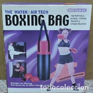 Coleccionismo deportivo: saco entrenamiento boxeo artes marciales nuevo en su caja - Foto 2 - 211670300