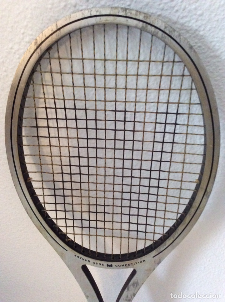 Coleccionismo deportivo: Antigua raqueta head funda original antigua y regalo de una moderna como se ve en la imagen - Foto 5 - 211681849