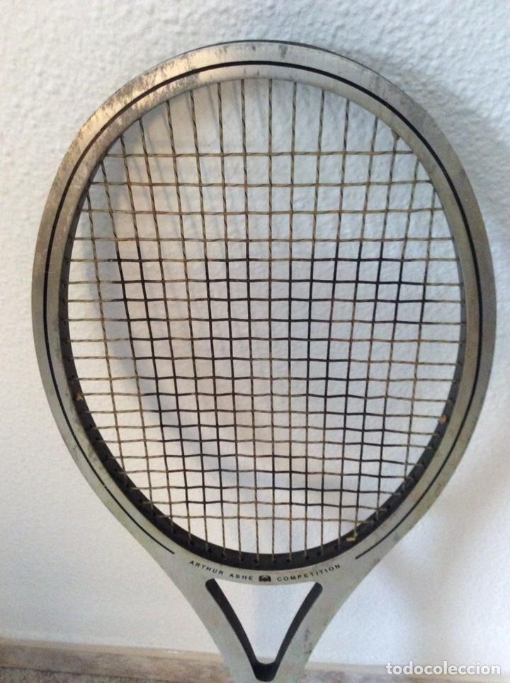 Coleccionismo deportivo: Antigua raqueta head funda original antigua y regalo de una moderna como se ve en la imagen - Foto 6 - 211681849