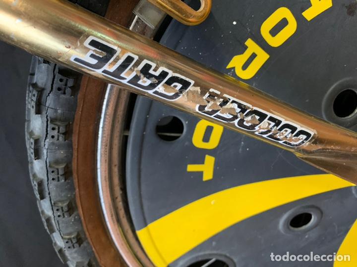 Coleccionismo deportivo: Bicicleta de BMX Torrot el Dorado Golden Gate con llantas lenticulares - Foto 4 - 211690620