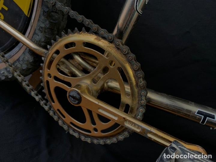 Coleccionismo deportivo: Bicicleta de BMX Torrot el Dorado Golden Gate con llantas lenticulares - Foto 6 - 211690620