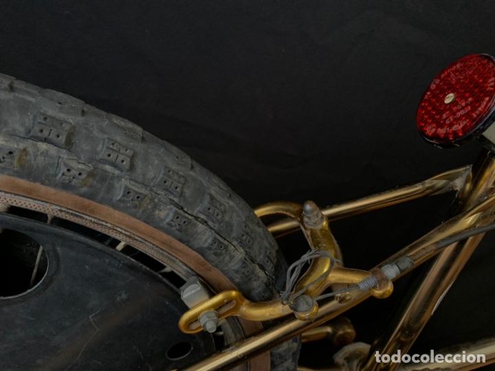 Coleccionismo deportivo: Bicicleta de BMX Torrot el Dorado Golden Gate con llantas lenticulares - Foto 7 - 211690620