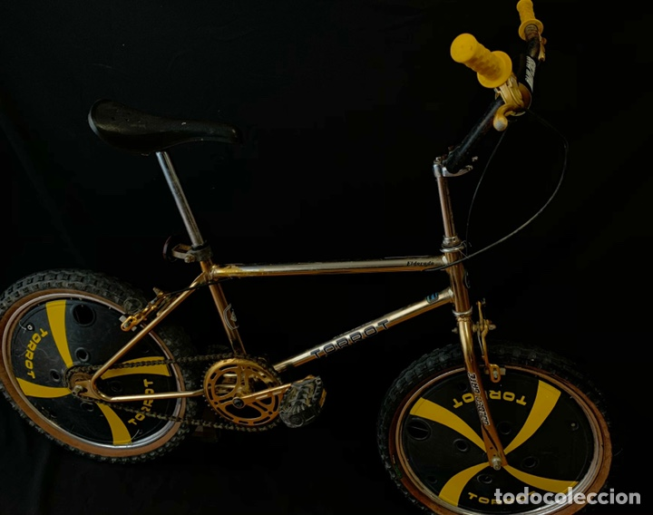 BICICLETA DE BMX TORROT EL DORADO GOLDEN GATE CON LLANTAS LENTICULARES (Coleccionismo Deportivo - Material Deportivo - Otros deportes)