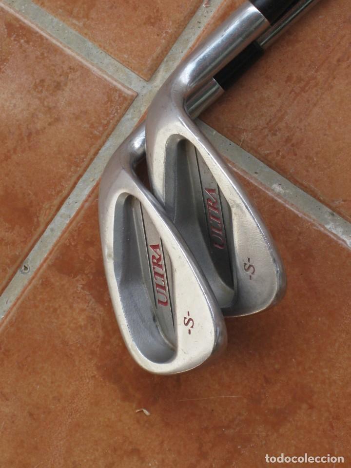 Coleccionismo deportivo: Dos palos de golf Wilson. - Foto 4 - 211791600