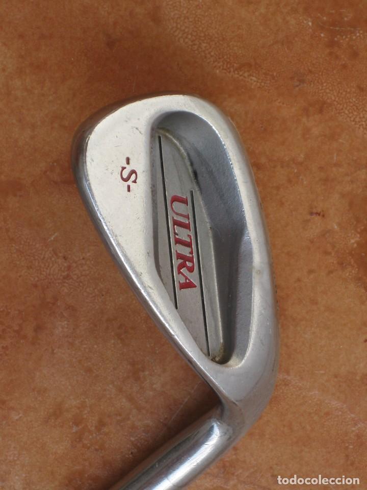 Coleccionismo deportivo: Dos palos de golf Wilson. - Foto 5 - 211791600
