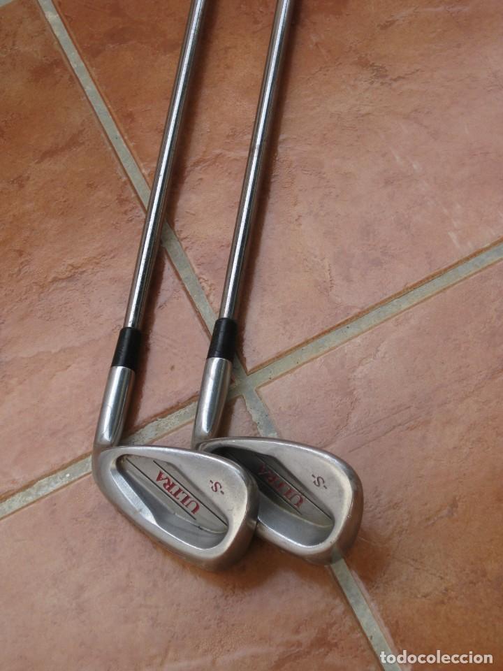 Coleccionismo deportivo: Dos palos de golf Wilson. - Foto 9 - 211791600