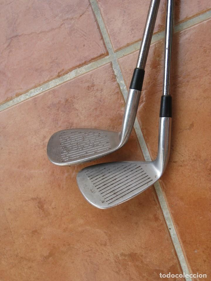 Coleccionismo deportivo: Dos palos de golf Wilson. - Foto 10 - 211791600