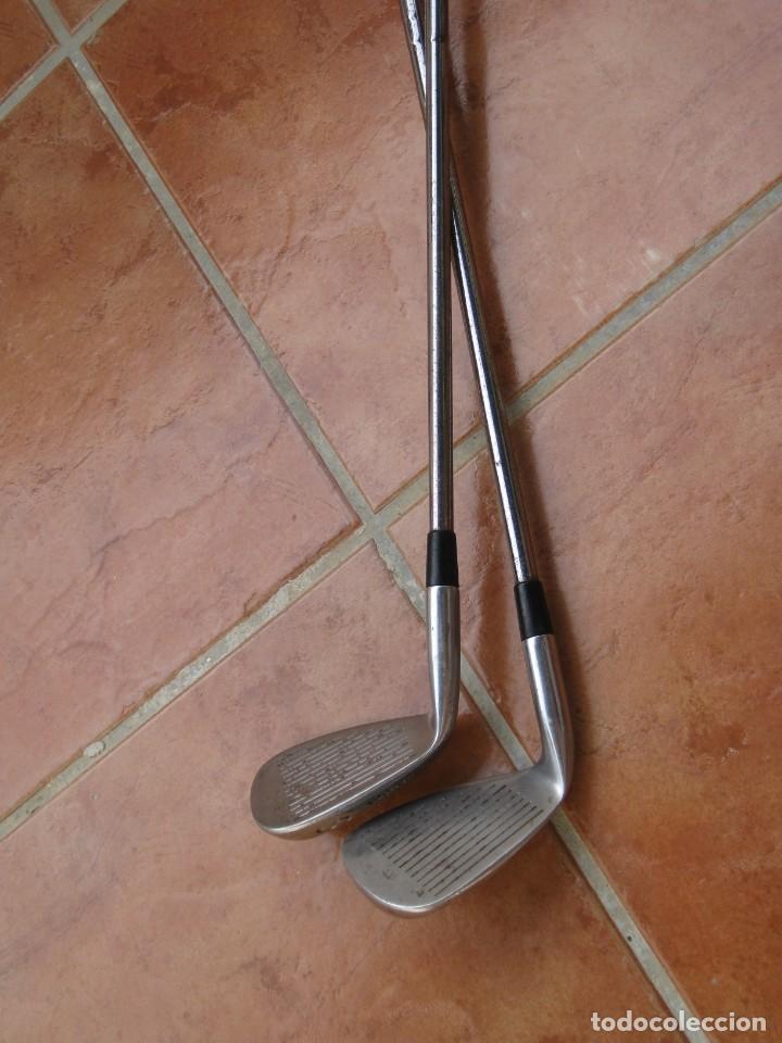 Coleccionismo deportivo: Dos palos de golf Wilson. - Foto 11 - 211791600