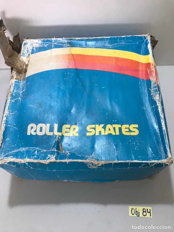 ANTIGUOS PATINES ROLLER SKATES (Coleccionismo Deportivo - Material Deportivo - Otros deportes)