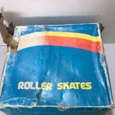 Coleccionismo deportivo: ANTIGUOS PATINES ROLLER SKATES. Lote 212541833