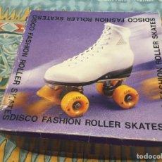 Coleccionismo deportivo: ROLLER SKATES PATINES BOTA CUERO AMERICANOS VINTAGE Nº 39 AÑOS 80. Lote 212981233
