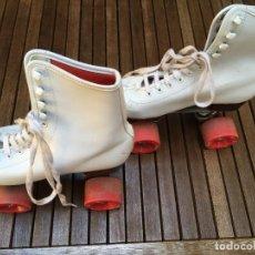 Coleccionismo deportivo: ROLLER SKATES PATINES BOTA AMERICANOS VINTAGE Nº 39 AÑOS 80. Lote 212981552