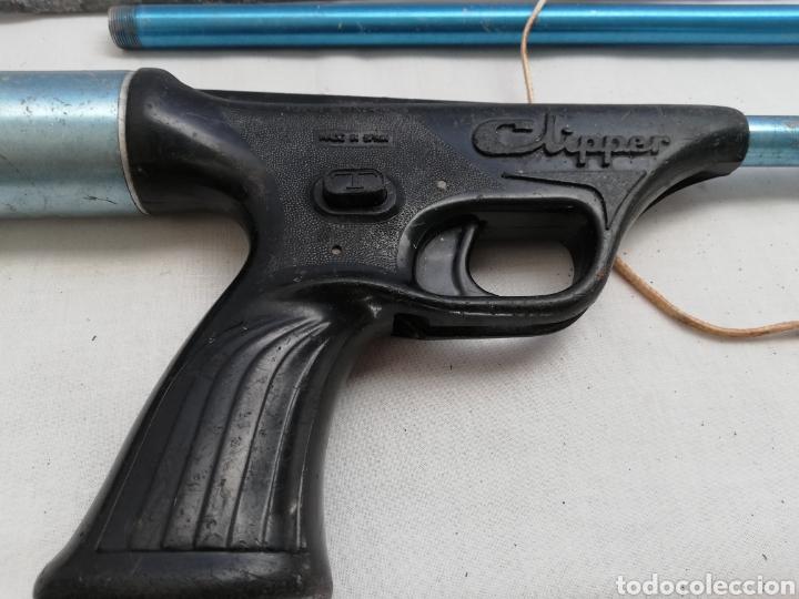 Coleccionismo deportivo: Fusil de pesca Antigua Clipper Nemrod - Foto 3 - 213671986