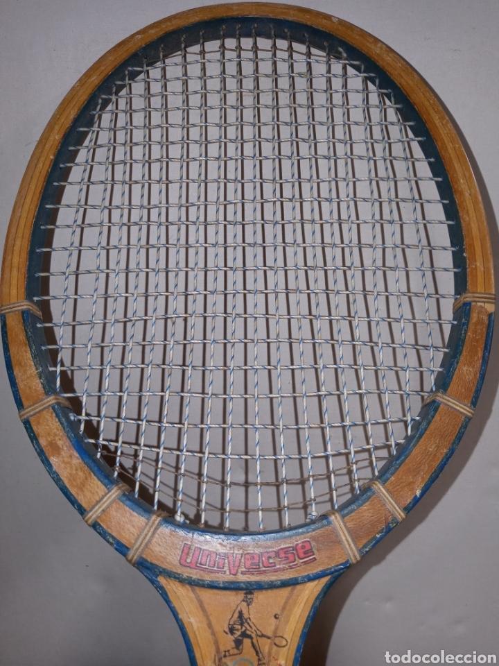 RAQUETA UNIVERSE (Coleccionismo Deportivo - Material Deportivo - Otros deportes)