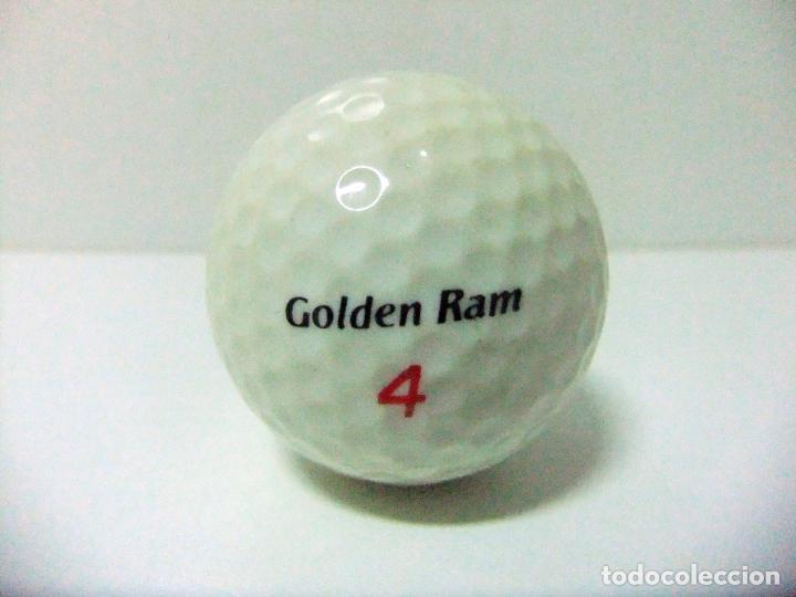 Coleccionismo deportivo: PELOTA GOLF GOLDEN RAM 4 LASER 392 AIX LES BAINS SPORTATHLON - TORNEO CLUB CAMPO DE FRANCIA FRANCE - Foto 2 - 215960671