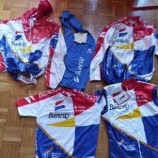 Coleccionismo deportivo: CONJUNTO DE CICLISMO BANESTO. Lote 216654413