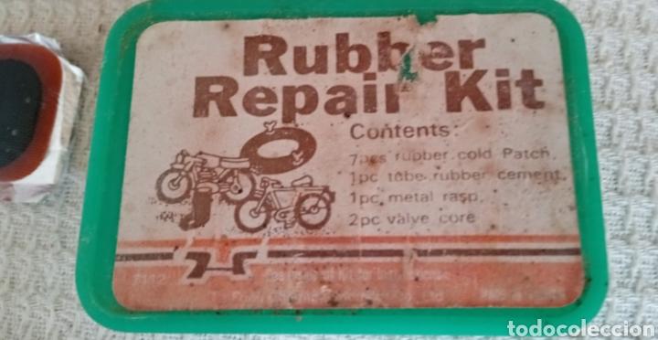 Coleccionismo deportivo: Antigua caja de parches para bicicletas - Foto 2 - 217264361