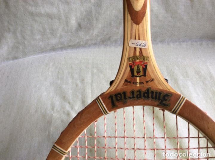 Coleccionismo deportivo: Antigua raqueta Imperial...Nueva de almacén. Años 80 - Foto 3 - 218073712