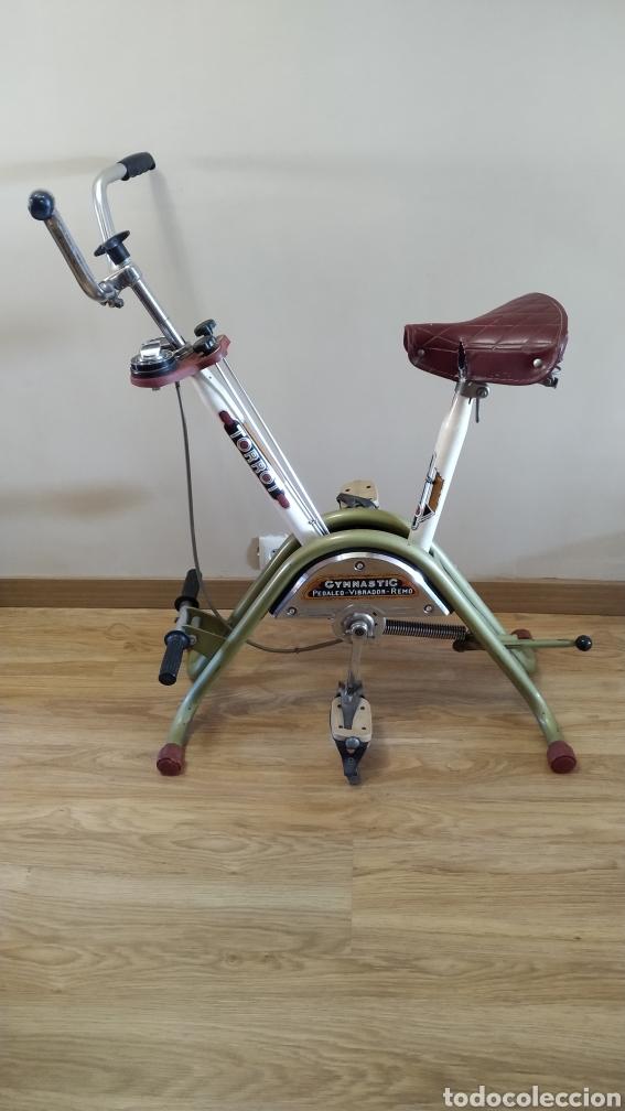 Coleccionismo deportivo: Bicicleta estática Torrot Gymnastic - años 70 - Foto 3 - 218089785