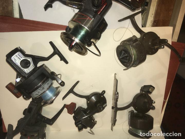 Coleccionismo deportivo: lote de seis carretes caña de pescar, 3 sagarra,carboran,sistar y bando. como se ven en las fotos - Foto 4 - 218822278