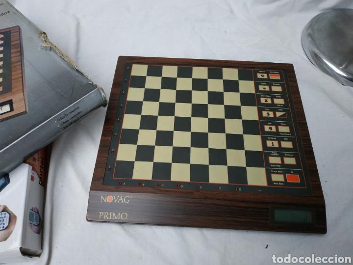 Coleccionismo deportivo: juegos de ajedrez electrónico Novag - Foto 3 - 220684276
