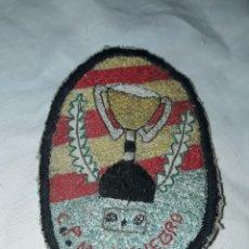 Coleccionismo deportivo: ANTIGUO PARCHE DE TELA C. P. MONTENEGRO. Lote 220785903