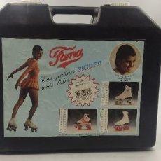 Coleccionismo deportivo: ANTIGUOS PATINES FAMA SKIDER. Lote 221840137