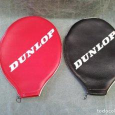 Coleccionismo deportivo: LOTE DE 2 - FUNDA PARA RAQUETA MARCA DUNLOP. Lote 221959440