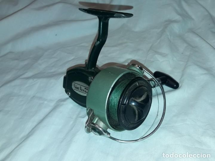 Coleccionismo deportivo: Antiguo Carreto de pesca Point-Ace 200 funciona - Foto 4 - 222041096