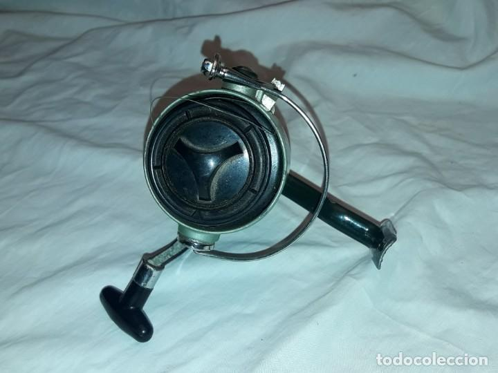Coleccionismo deportivo: Antiguo Carreto de pesca Point-Ace 200 funciona - Foto 7 - 222041096
