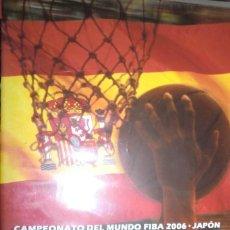 Coleccionismo deportivo: DVD CAMPEONATO DEL MUNDO FIBA 2006 - JAPÓN Nº8 . SEMIFINAL ESPAÑA 75 - ARGENTINA 74. BALONCESTO.. Lote 222443427